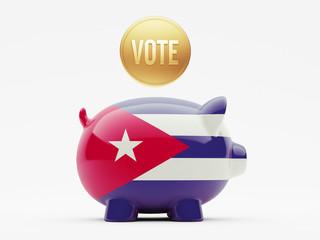 Cuba Vote Concept