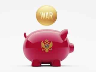 Montenegro. War Concept.