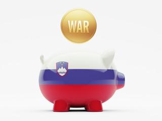 Slovenia War Concept.