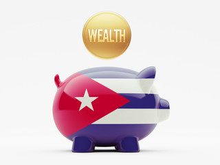 Cuba Wealth Concept