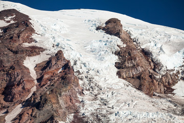 Glacier on  Mount Rainier