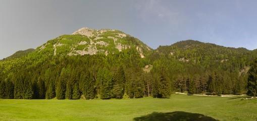 Panorama Berglandschaft der Alpen