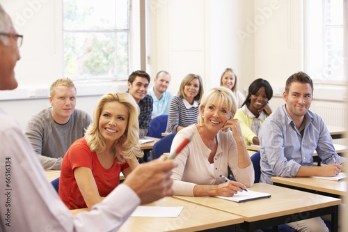 Senior tutor teaching class - 66516334