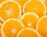 Fototapety ripe juicy orange slices