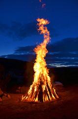 Feuer Lagerfeuer Nacht