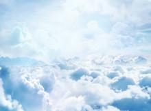 Dessus des nuages