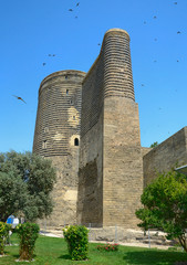 Maiden Tower  in the Old City. Baku. Azerbaijan.
