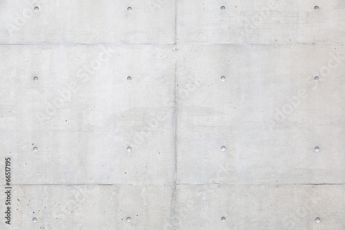 Grungy and smooth bare concrete wall background © torsakarin