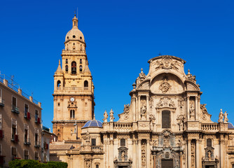 Cathedral Church of Saint Maria in Murcia.  Spain
