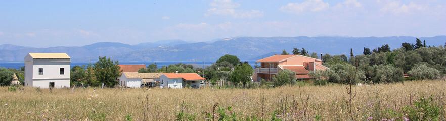Landscape view of Corfu