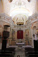 Oratory of the Dead in Monterosso, Liguria, Italy