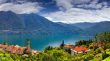 View from the town of Carate Urio, on Lake Como. poster
