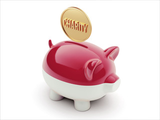 Indonesia Charity Concept Piggy Concept