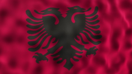 Fahne Flagge Nationalflagge Nationalfahne Albanien