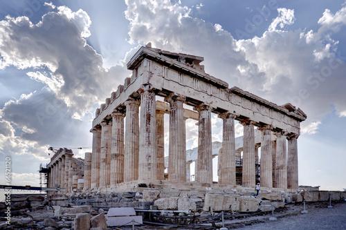 Poster Athene Acropolis of Athens © Çetin Ergand 2014