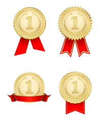 award medal gold icons