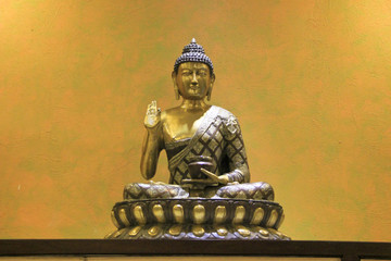 Buddha on Lotus Seat
