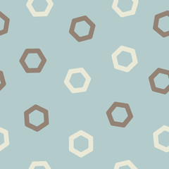 seamless background: polygon