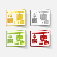 realistic design element: chart