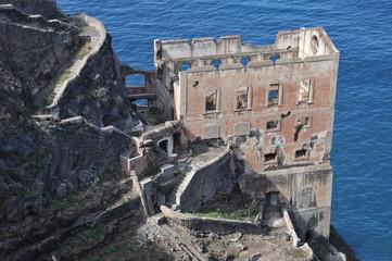 Ruine der Wasserpumpstation Gordejuela, Teneriffa