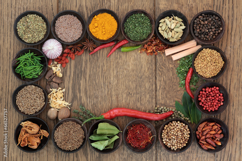 Herb and Spice Border - 66527757