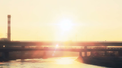 bridge sunrise