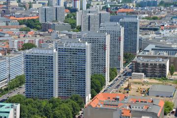 Hochhäuser, Wohnungen, Städtebau, Architektur, Stadt, Berlin