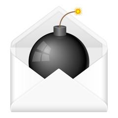 envelope bomb