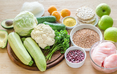 Hypoallergenic diet: products of different groups
