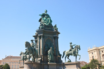 Monument to Maria Theresa. Vienna. Austria