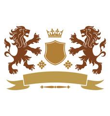 lion heraldic emblem