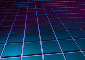 abstract image of cubes background.  Abstract background