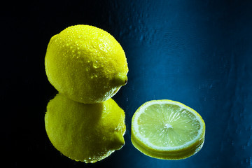 Lemon and a Slice reflection