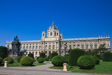 Museum of Natural History. Maria Theresa Square. Vienna. Austria