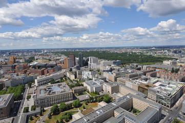 Potsdamer Platz, Berlin-Mitte, Tiergarten, Luftbild, Berlin