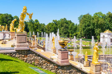 Grand Cascade in Perterhof Palace, Saint Petersburg