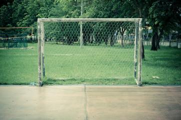 soccer goal field