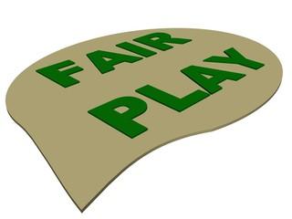 Fair play text