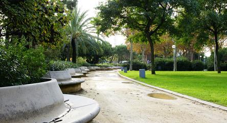 Parque del Litoral en Barcelona