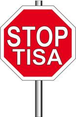 Stoppschild Tisa