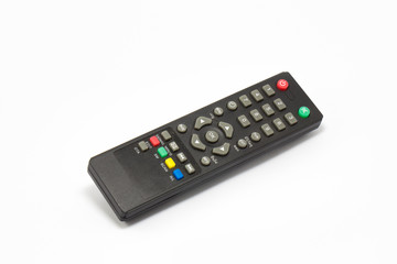 Remote control for sattelite receiver box