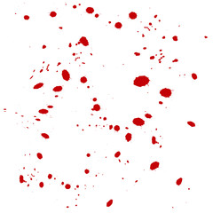 vector drobs blood background