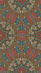 Decorative seamless pattern. EPS-8.
