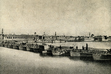 Baghdad and Tigris River ca. 1920