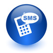 sms computer icon on white background