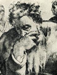 Jeremiah (Michelangelo, Sistine Chapel ceiling, detail)