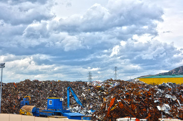 Puertollano, chatarrería, desguace, residuos no peligrosos