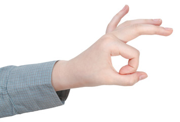 a-ok finger sign - hand gesture