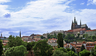 The Prague Castle in Czech republic