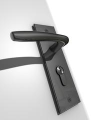 Cilinderslot en deurkruk